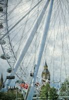 Eye over Westminster by grbush