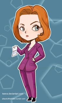 dana scully by keevs