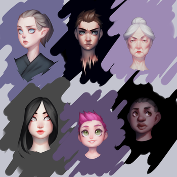Face Practice by Saige199
