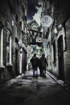 Neal's Yard by xtrevx