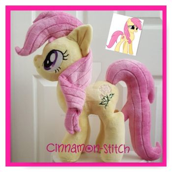 mlp plushie commission OC STARRY by CINNAMON-STITCH