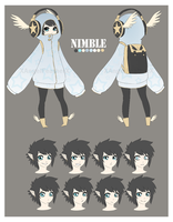 Nimble - Character Sheet by XAngelFeatherX