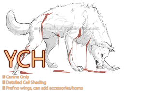 YCH Auction - Snarl - SOLD by Mara-Elle