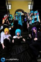 Vocaloids 2 by KagamineYuki