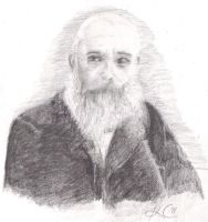 Claude Monet sketch by neonfriends