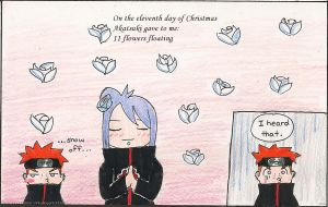 Akatsuki:Eleventh day of x-mas by Shootingstar-pink