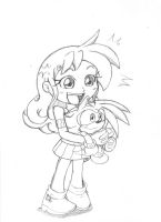 Lilyana and Shaundre: My Friend the Hedgehog by Narcotize-Nagini