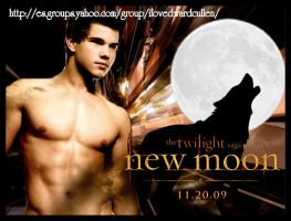 Jacob Black New Moon by rizy2009
