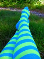 .:Striped Socks:. by xxJasmin-Ros3xx