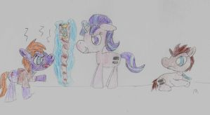 The Doctor meet Starlight by ptitemouette