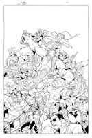 New Avengers: AAF Exclusive 7 by Csyeung
