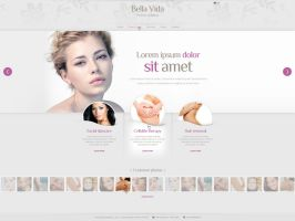 Web Design: Bellavida by VictoryDesign