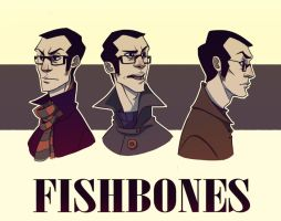 Fishbones by andrahilde