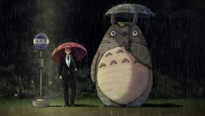 My Neighbor Totoro commission by kirakam