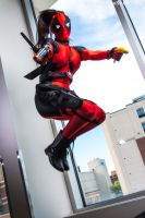 MASSive Comic Con 2017 - Lady Deadpool(PS) 15 by VideoGameStupid