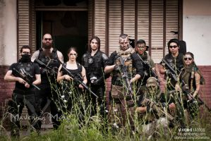 S.C.A.R. (Special Counter Action Recon) FULL TEAM by I-MOKH
