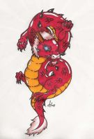Baby Chinese Dragon by Inu-Nohi