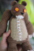 Tibbers from League of Legends Amigurumi Doll by Npantz22