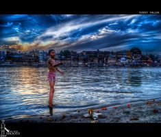 Kite Flyer II.. by nimitnigam