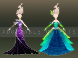 (Closed) Dresses design adoptables - Auction 6 by fantazyme