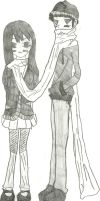 A very, very long scarf by 17tliles