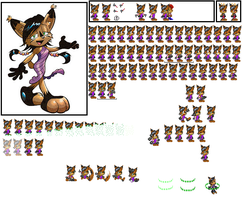 nicole sprites gens by sonicnews