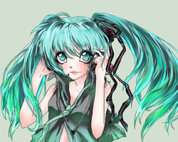 MIKU color practice by RainLolliie