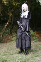 Gothic3 with sword 1 by Sayashi-Stock