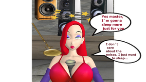Jessica Rabbit: Soundly asleep 10 by Hypnowalker