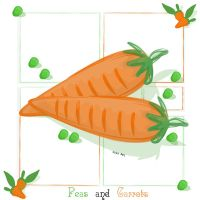 Peas and Carrots by lehsa