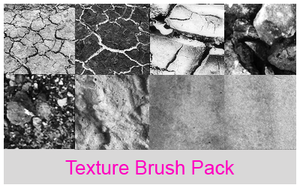 Texture brush pack (big brushes) by xALIASx
