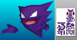 Haunter papercraft by javierini