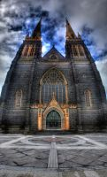 St Patrick Cathedral by dzign-art
