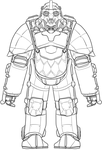 Harambe class power armor by madcomm