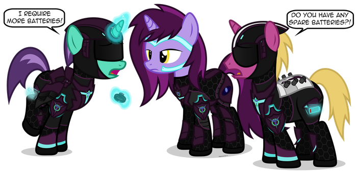 PS2 Ponies - Vanu Sovereignty by MrLolcats17