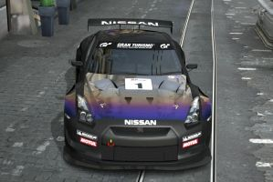 Nissan GT-R R35 Race Car by Worlds-of-Danger