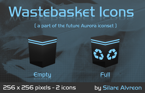 Wastebasket by silare