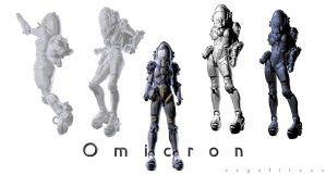 OMICRON 01 by angelitoon