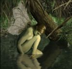 Lonely Swamp Faerie by pepperw