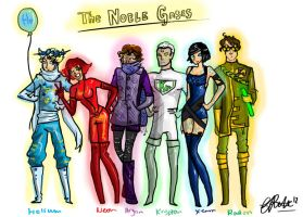 The Noble Gases by Rennastar