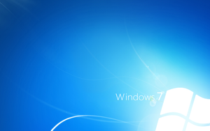 Windows 7 Light Blue by CaHilART