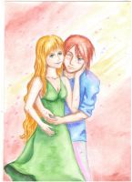 Spirit Albarn and his wife by McCreation