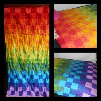 Rainbow Quilt by Ithelda