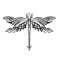 Tribal Dragonfly by dhamn