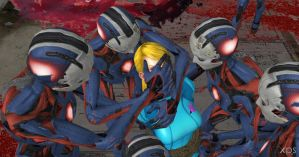 Samus Epic Fight - 18 by Torunkusu
