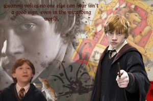 Ron Weasley Wallpaper by Kittykorner