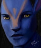 Avatar Face - Crap by SironaBennet