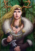 Forest Queen by CanisPanthera