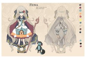 Blind lace: Fiona by Sternenmelodie