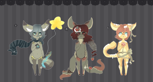 Magical Foxes Adoptables .:Closed:. by Pieology